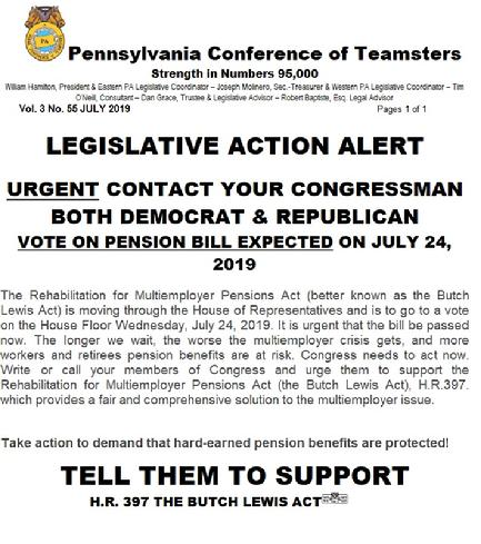 PA CONFERENCE OF TEAMSTERS